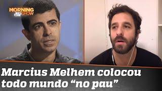 Justiça determina que Rafinha Bastos tire vídeo de Marcius Melhem do ar