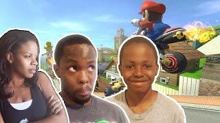 AIN'T WORRIED ABOUT NOTHIN! - Mario Kart 8 Wii U Gameplay   Wifey Beatdown 9 Pt.5