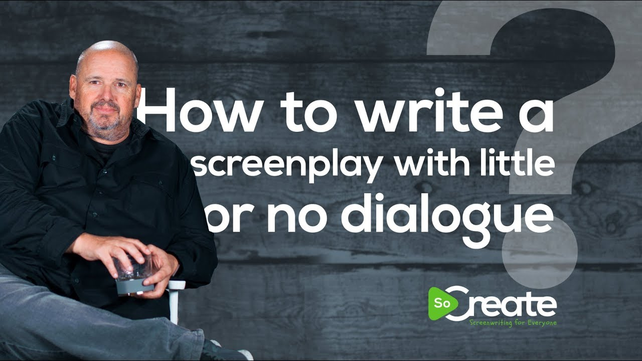 How to Write a Screenplay With Little or No Dialogue, According to Screenwriter Doug Richardson