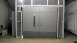 Hydraulický výtah fy.Vymyslický, Maier,Prostějov - Hydraulic Elevator, Prostejov, CZ