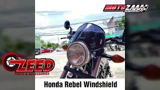Install Honda Rebel CMX 300 - 500 Meter Visor Windshield