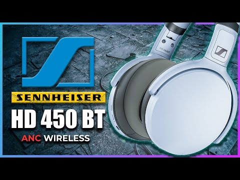External Review Video VFRZeZuqE6Y for Sennheiser HD 450BT Over-Ear Wireless Headphones w/ Active Noise Cancellation