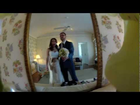 Hidden GoPro Shows The Wedding From The Bride's Point Of View