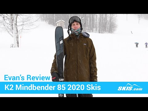 Video: K2 Mindbender 85 Skis 2020 6 40