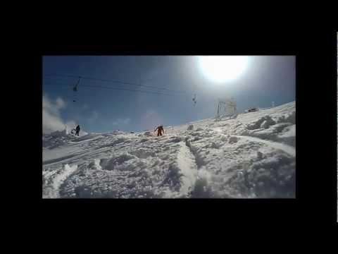 Bruncuspina neve e sci in Sardegna