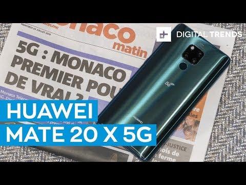 External Review Video VFVUEqdDr3U for Huawei Mate 20 X 5G Smartphone