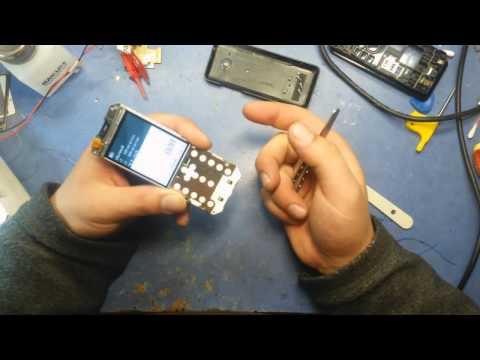 """Подробный ремонт телефона """"Nokia 206"""""""