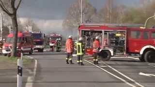 preview picture of video 'Oyten: Gasleck an der Combi-Kreuzung'