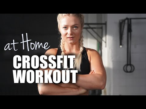 CROSSFIT ® HOME WORKOUT | HIIT | No Equipment needed