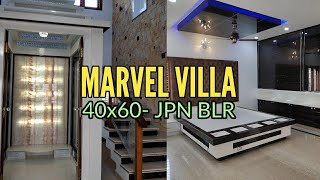 Marvel Villa- 40x60 Brand New Luxury Home #ForSale in JP Nagar Bangalore