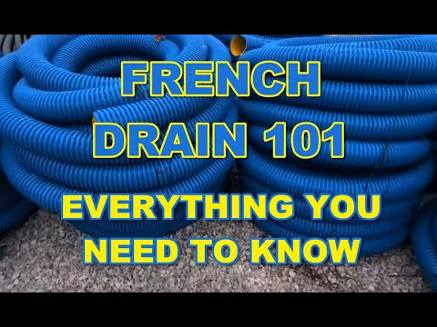French Drain 101 - Everything You Need to Know! mp3 yukle - mp3.DINAMIK.az