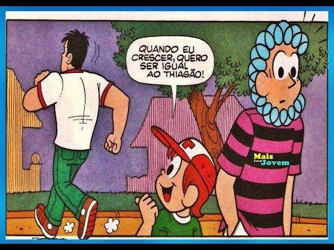 Rolo e Toneco - Igual a quem?, Quadrinhos Turma da Mônica