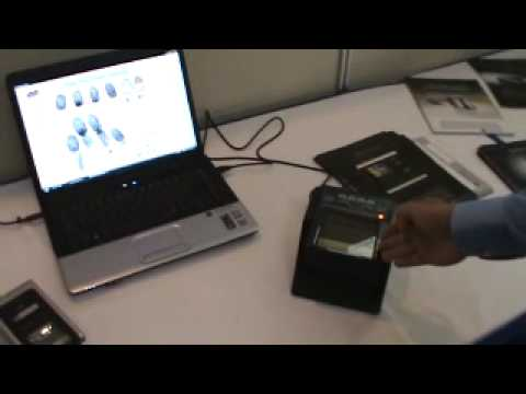 Bioidentidad C.A. - Capturadores de huellas especializados en el Segur Show 2009