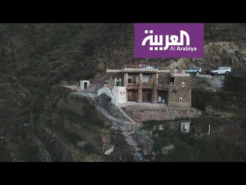 العرب اليوم - شاهد: قصر أثري يجسّد تراث قرية الحضن جنوب السعودية