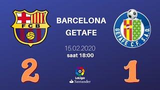Barcelona - Getafe   15.02.2020   CANLI YAYIN