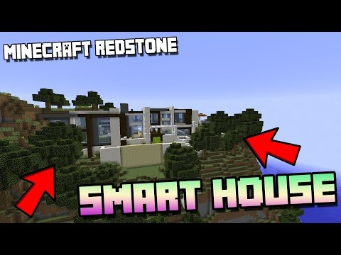 Minecraft: Modern Redstone House Review + DOWNLOAD / Smart