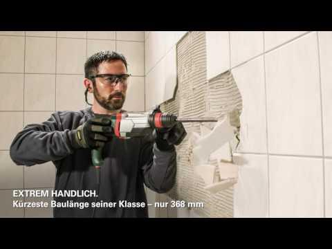 Elektrowerkzeuge #2 Leicht und Kompakt 2,0 kg Multihammer-Reihe - Metabo
