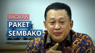 Ketua MPR RI Bambang Soesatyo Bagikan Ratusan Bantuan Paket Sembako untuk Peringati Hari Kartini