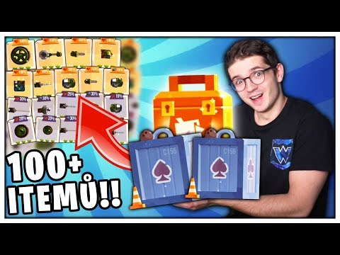 OPENING 100 ITEMŮ!! (Crash Arena Turbo Stars #5)