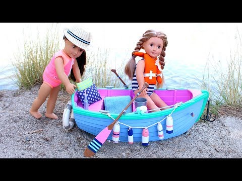American Girl Doll Boat Playset Review