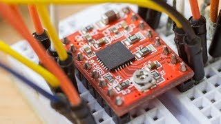 Драйвер шагового двигателя A4988. Обзор и подключение к Arduino