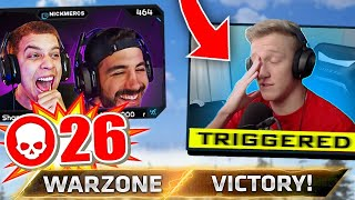 Playin' Warzone With Tfue.. I've Never Seen Him So Mad!