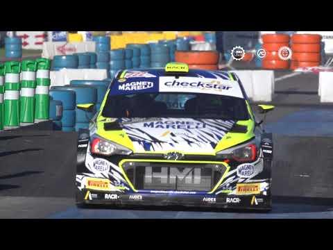 Valentino Rossi ipoteca la vittoria del Monza Rally Show