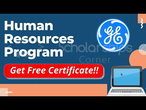 Human Resources Program by GE | Virtual Experience Program | Get Free Verified Certificate