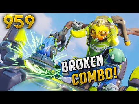 THE *NEW* MOST OP HERO COMBO!? | Overwatch Daily Moments Ep.959 (Funny and Random Moments)