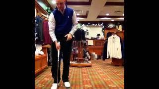 Work on Your Putting Indoors