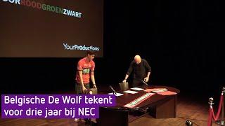 Belgisch talent Mathias De Wolf heeft goesting in NEC