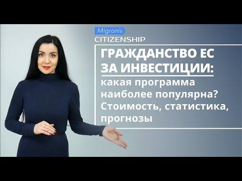 Гражданство за инвестиции в ЕС 👉 Сравнение паспортных программ