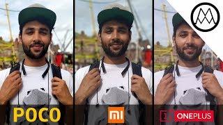 Xiaomi Pocophone F1 vs Xiaomi Mi A2 vs OnePlus 6 Camera Test Comparison