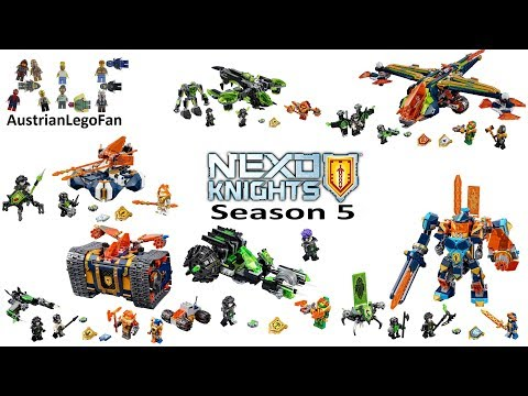 All Lego Nexo Knights Season 5 Sets - Lego Speed Build Review