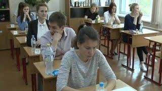 Сегодня у российских выпускников первый обязательный госэкзамен – по русскому языку