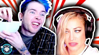 ★ GROSSEST VIDEO I'VE EVER MADE | REACTION & CHALLENGE | DanTDM |  Psycho Girl