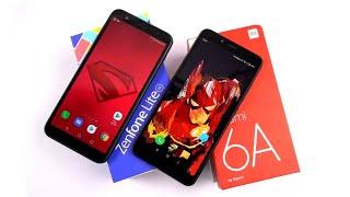 Redmi 6A vs Asus Zenfone Lite L1 Full Comparison