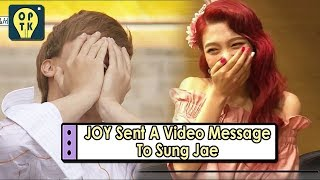 [Oppa Thinking - BTOB] Bbyu Couple Reunion? JOY Sent A Video Message To Sung Jae 20170807