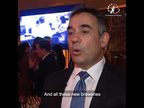Beer Serves Europe VII - Mr Pavlos Photiades, President of The Brewers of Europe - Part 2
