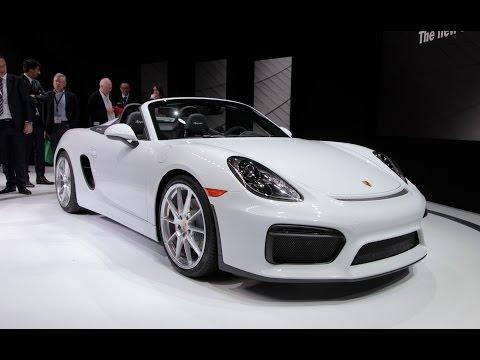 2016 Porsche Boxster Spyder - 2015 New York Auto Show