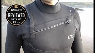 SUP wetsuit review / ION 4/3mm ladies Trinity Amp & mens Onyx Amp