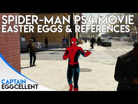 All Spider-Man PS4 Spider-Man Movie Easter Eggs/References