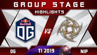 OG vs NiP - CARRY IO WISP! [EPIC] TI9 The International 2019 Highlights Dota 2