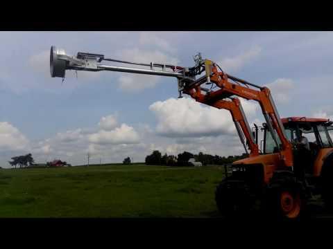 Güllemixer, Slurry mixer hydraulic