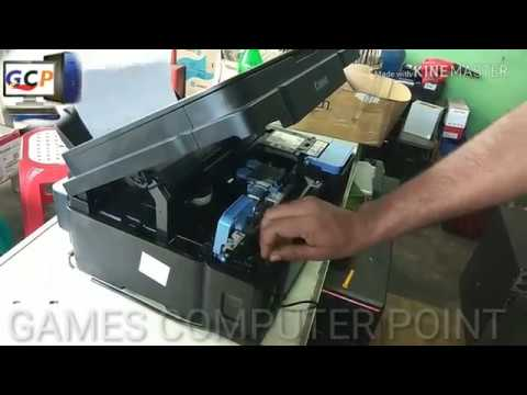 How to solve Canon g2000 ink into pipes - смотреть онлайн на Hah Life
