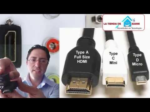 cual es la diferencia entre video mini hdmi vs micro vs hdmi   puertos  ?