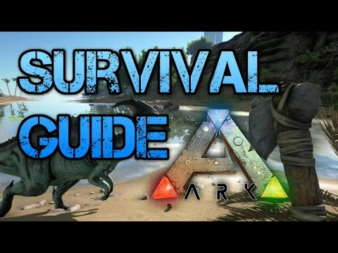 Video Ark Survival Evolved - Beginners Survival Guide - Tutorial Crafting, Learn how to play.