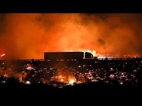 California wildfires prompt state of emergency