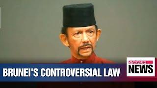 Brunei passes gay sex stoning law despite international opposition