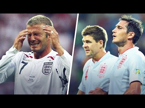 The reasons why England's Golden Generation never won anything | Oh My Goal
